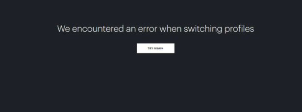 Hulu app error when switching profiles Solved